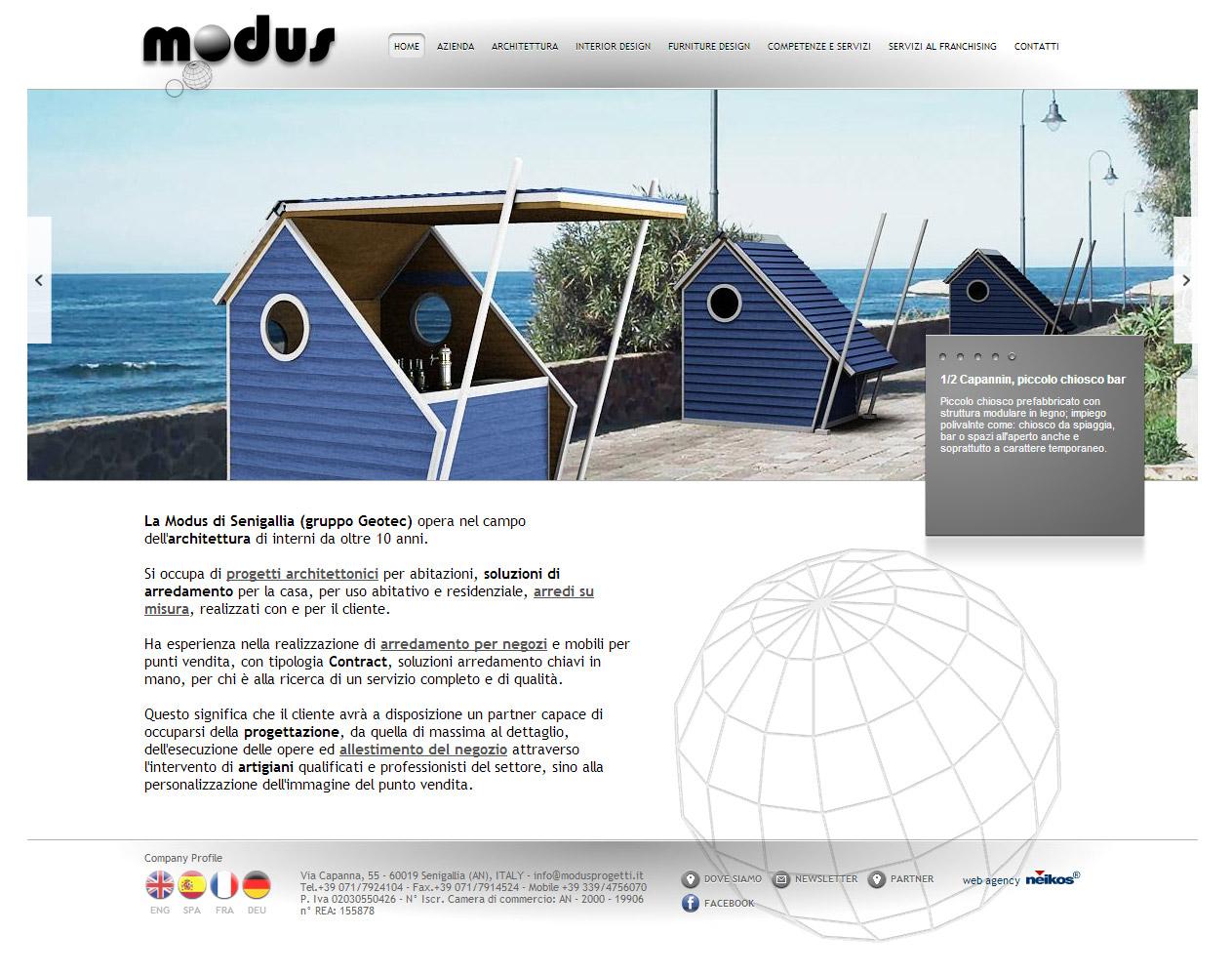 Modus, progetti architettonici