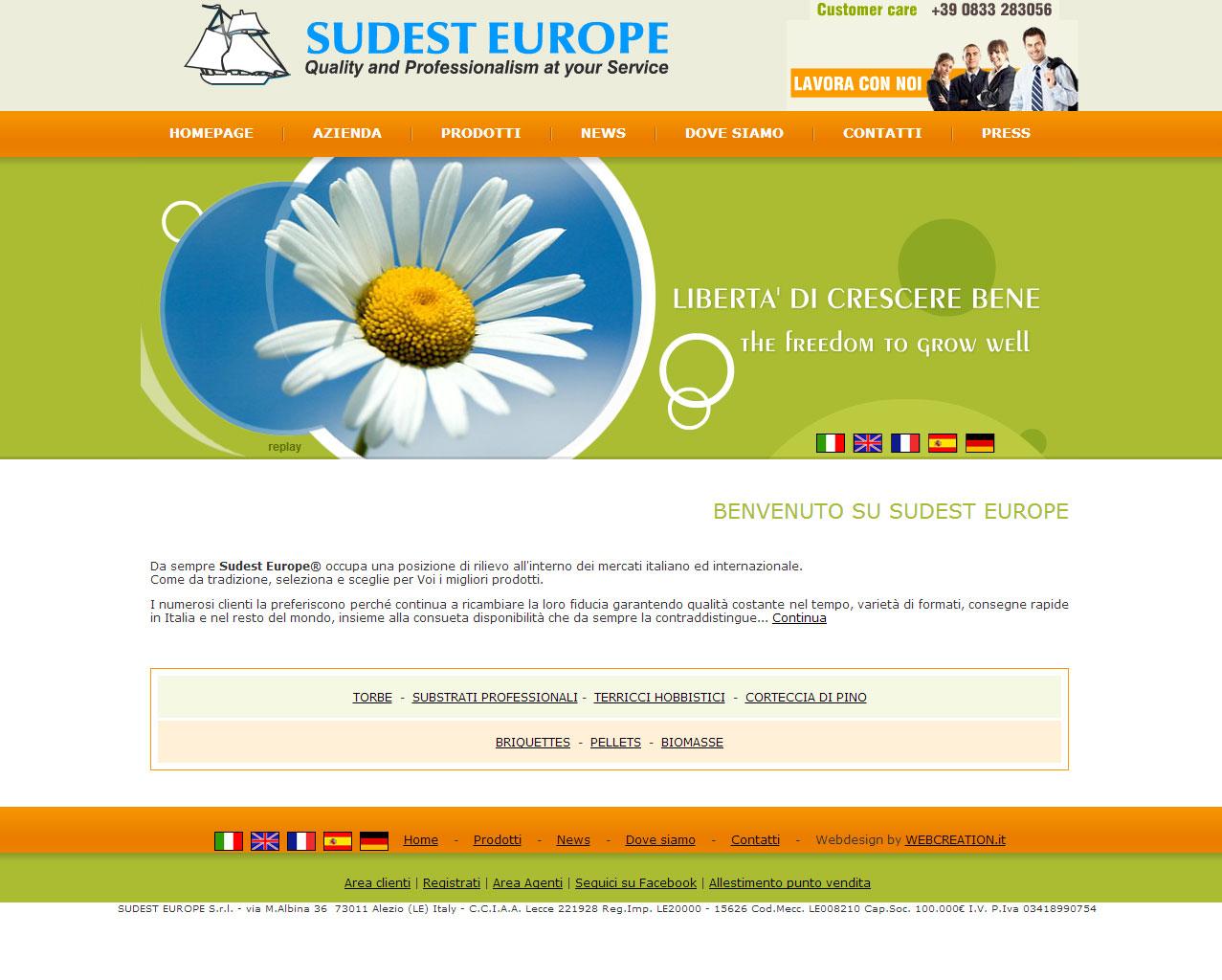 Sudest Europe, piattaforma B2B