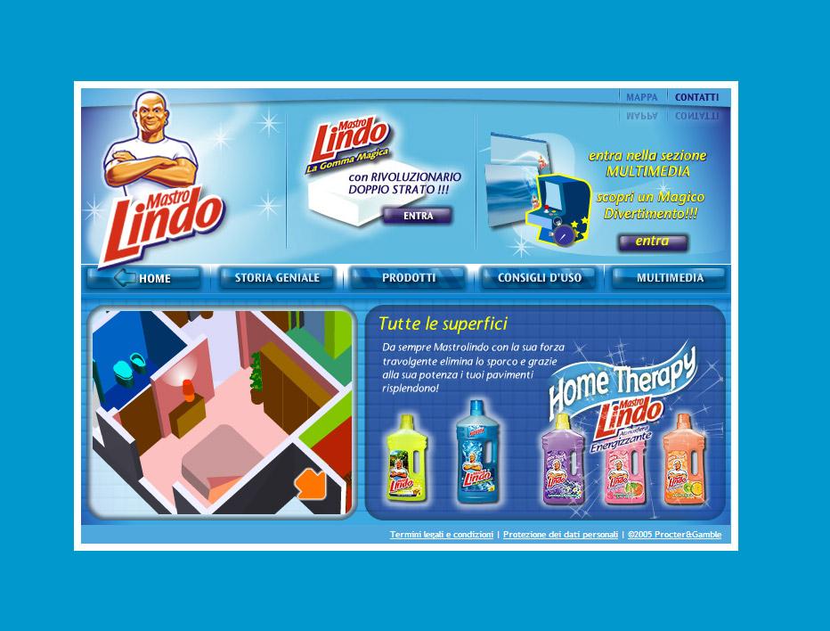 Procter & Gamble – Mastrolindo, catalogo online detergenti
