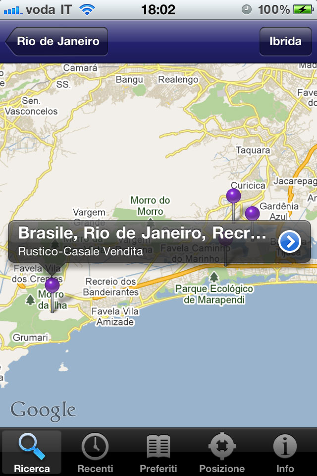 Realigro Mobile, iphone App