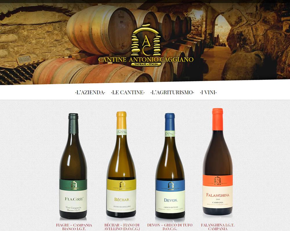 Cantine Antonio Caggiano, catalogo online vini
