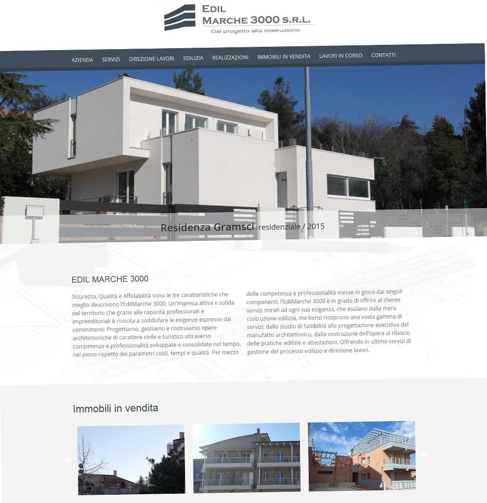 EdilMarche 3000, progettazione opere architettoniche