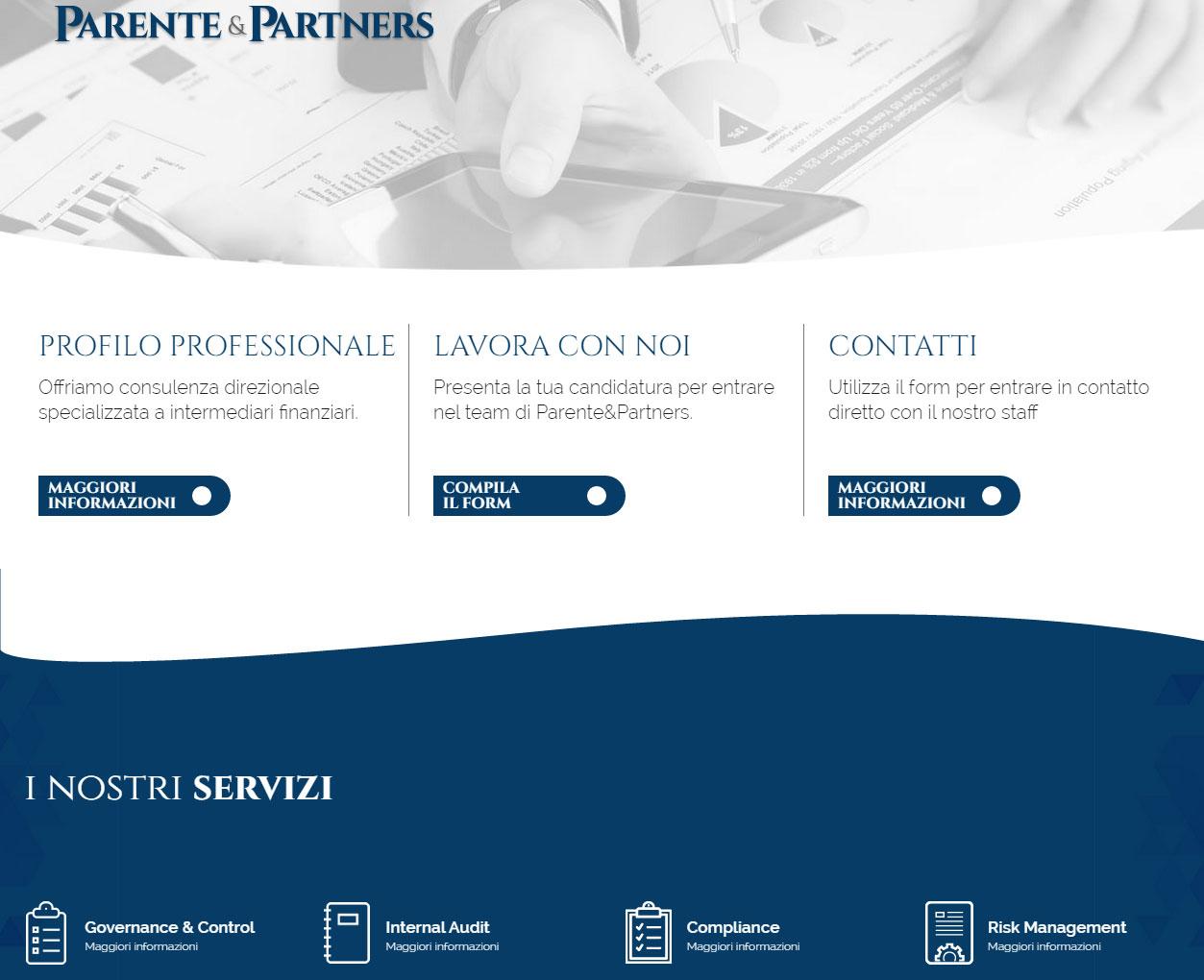Parente & Partners, consulenza per intermediari finanziari