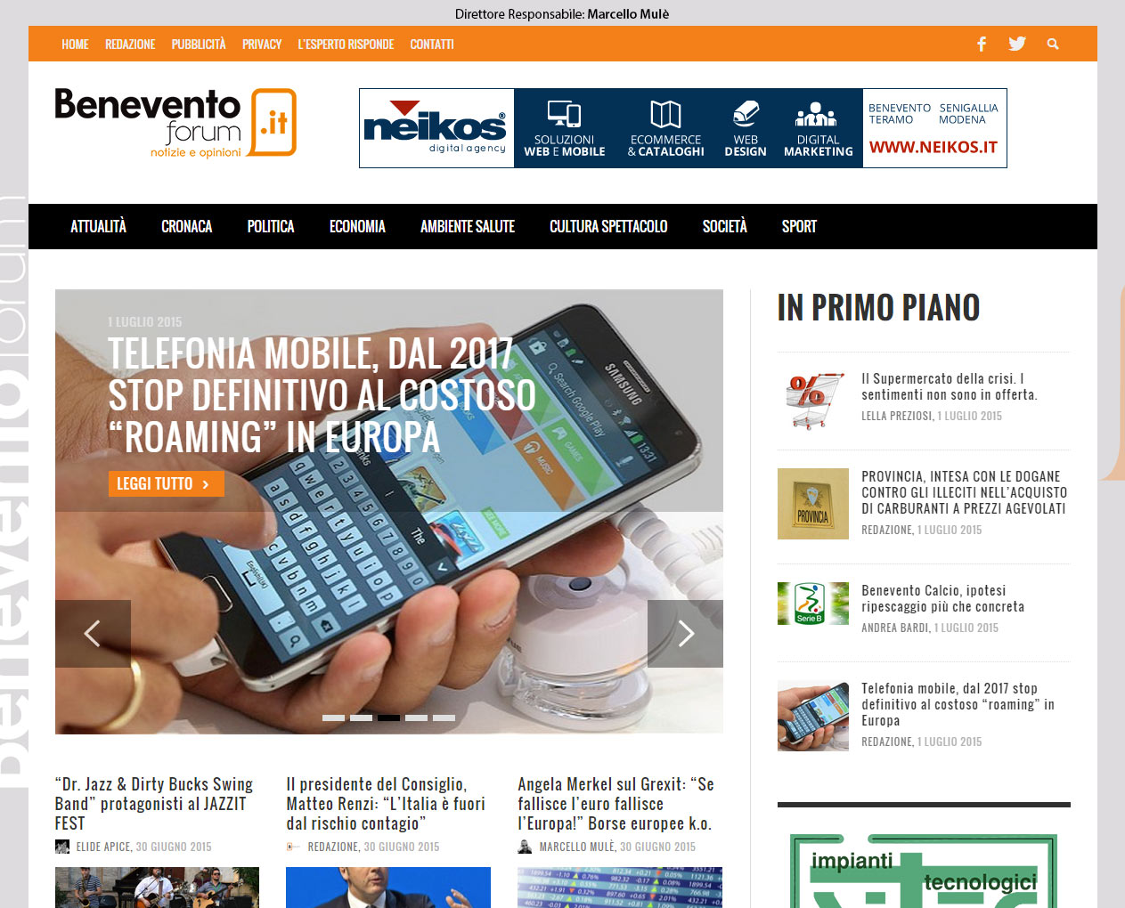 Beneventoforum.it, quotidiano online