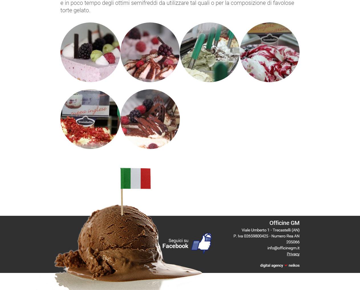 Officine GM, portale dedicato al mondo del gelato