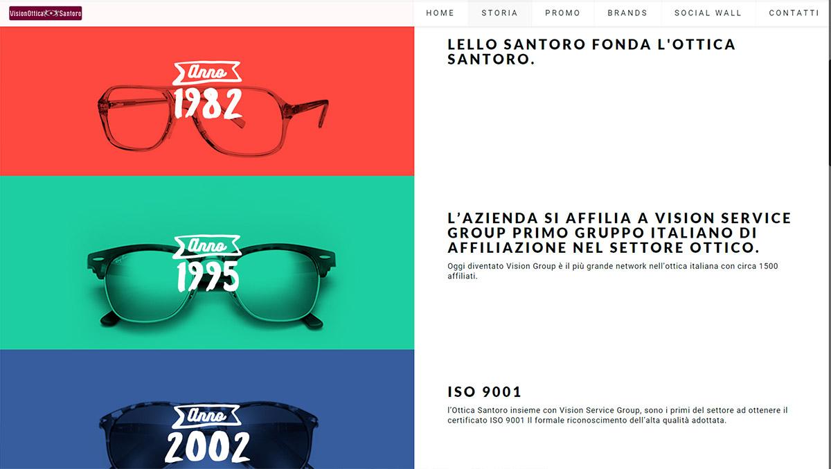 Ottica Santoro, occhiali da vista e da sole