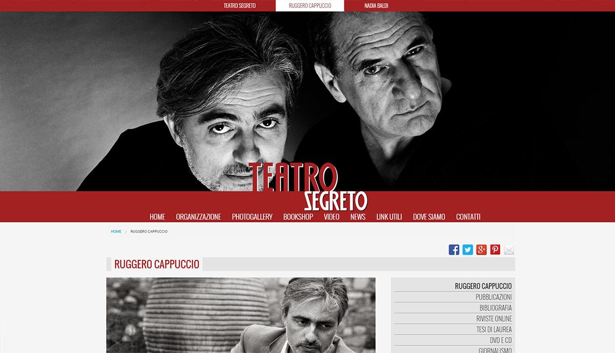 Teatro Segreto, catalogo online produzioni artistiche
