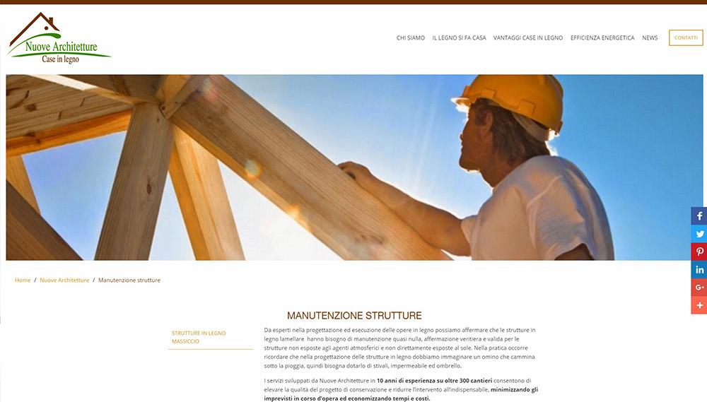 Nuove Architetture, progettazione case in legno