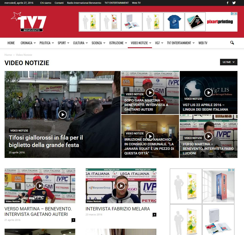 TV7 Benevento, emittente televisiva