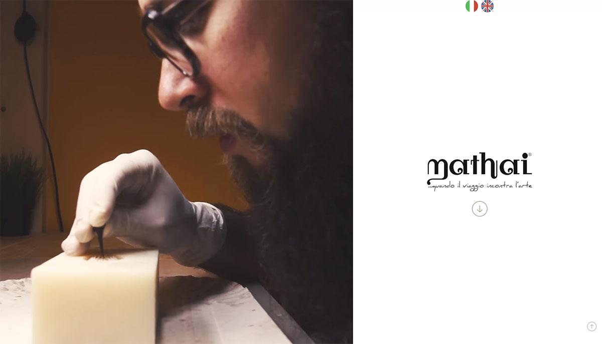Mathai, sito di prodotto