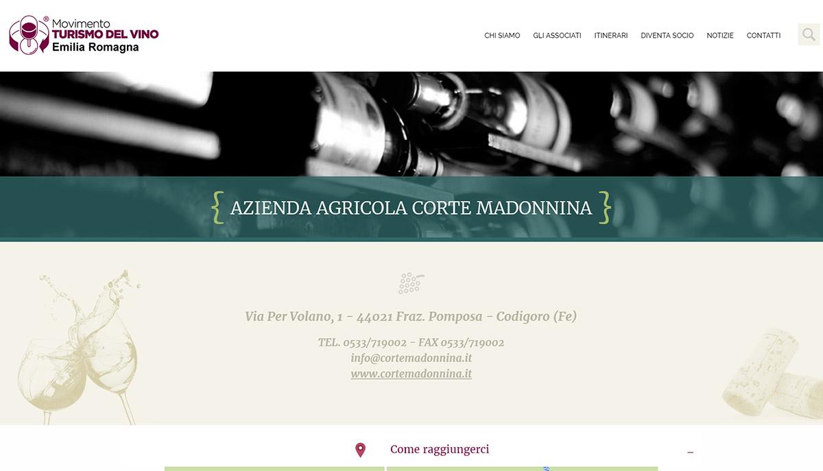 Movimento turismo del vino Emilia Romagna