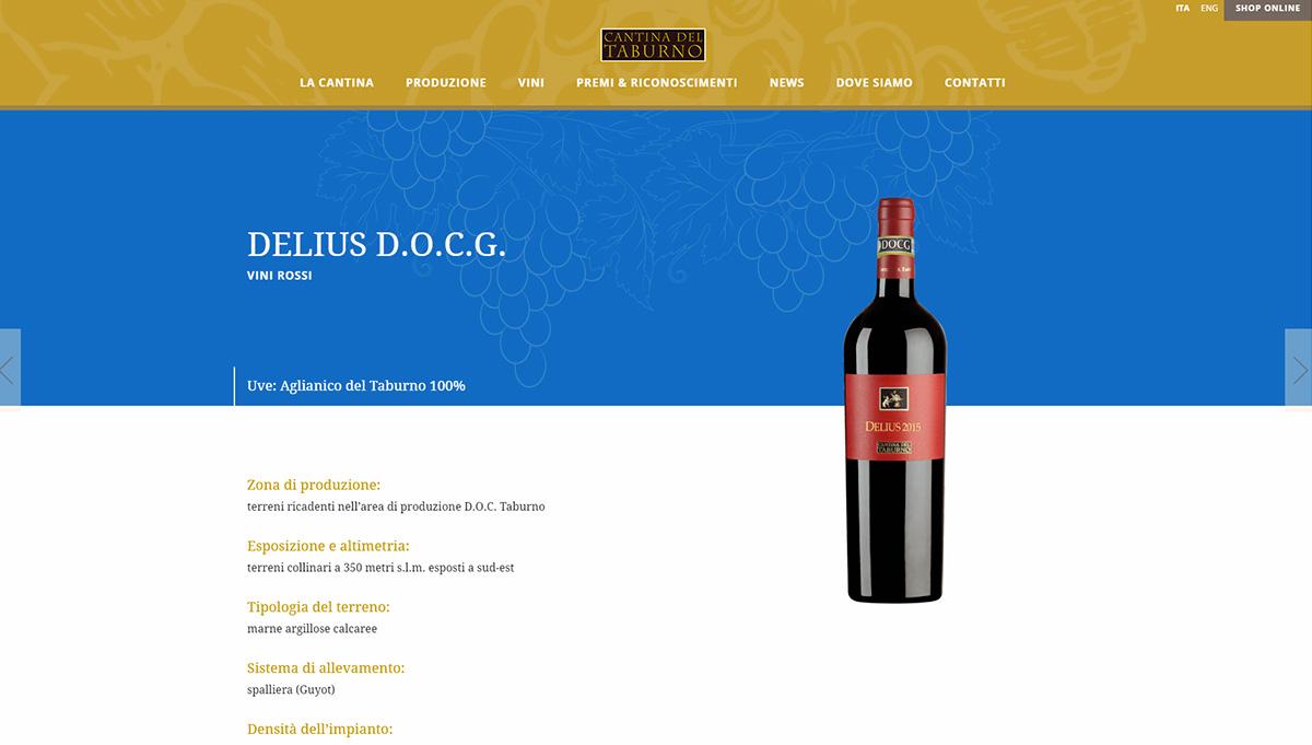 Cantina del Taburno, aziende vinicole