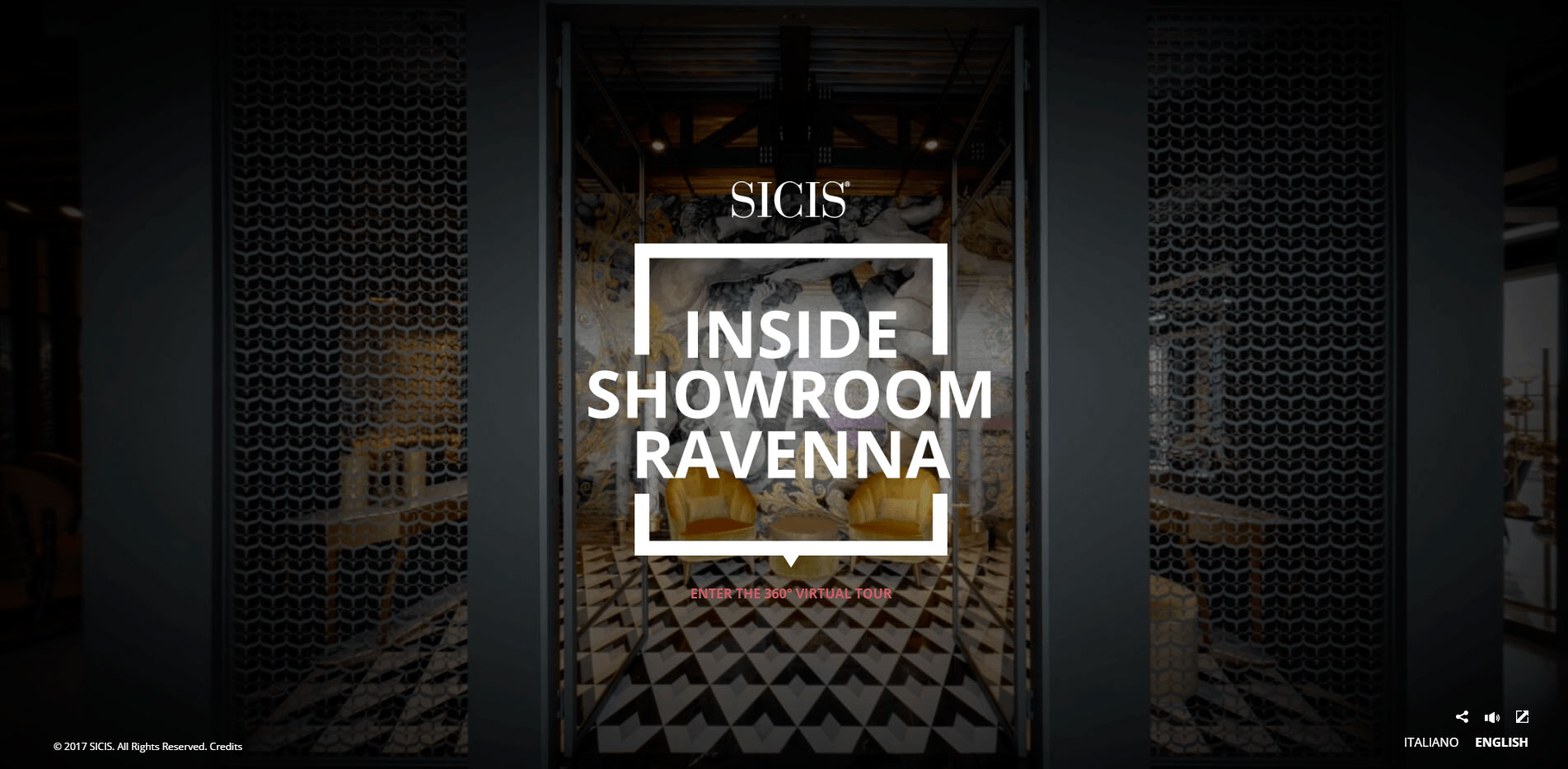Inside Sicis Showroom, virtual tour