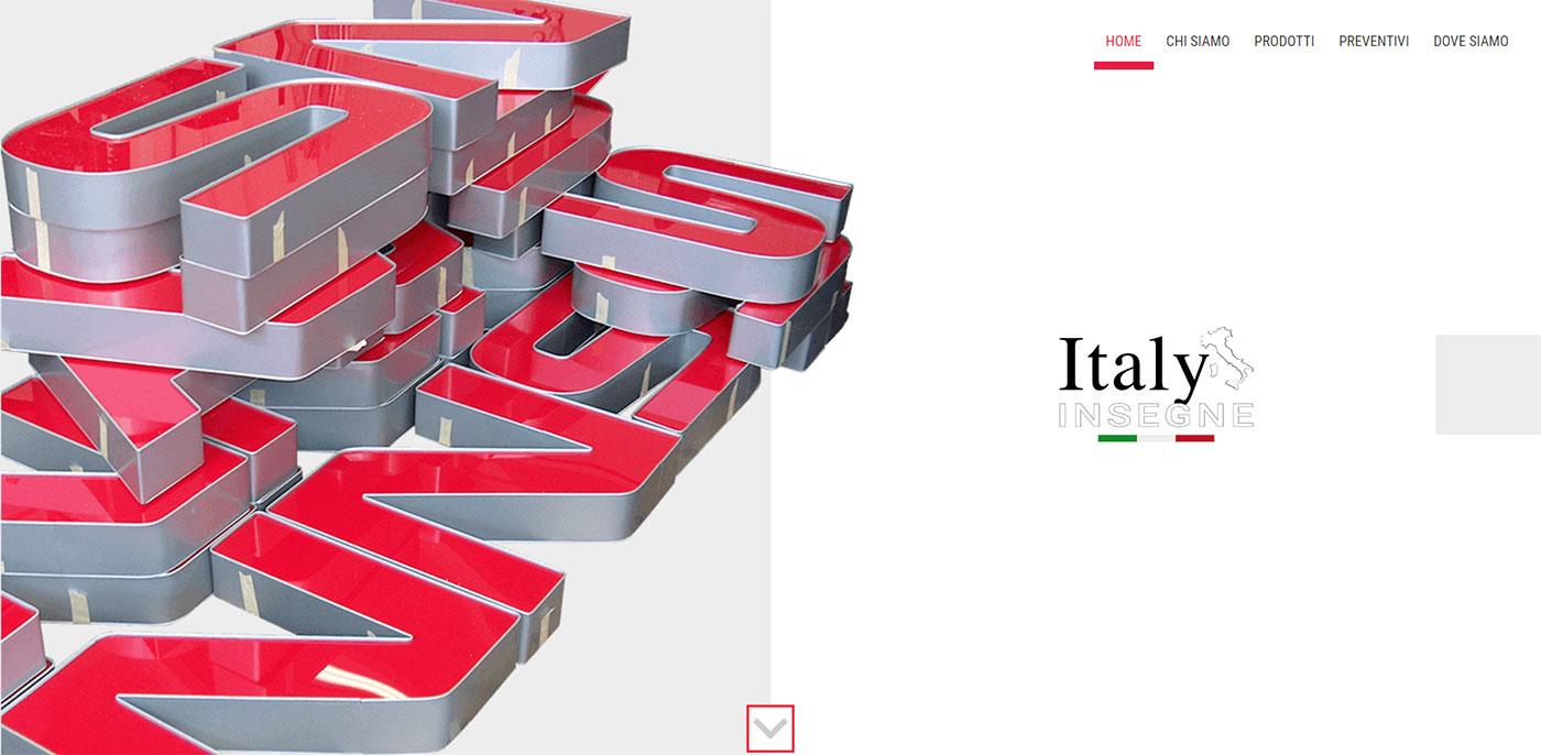 Italy Insegne, vendita insegne luminose pubblicitarie