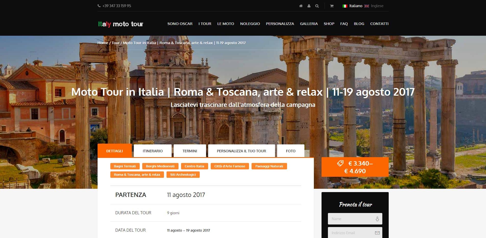 Italy Moto Tour