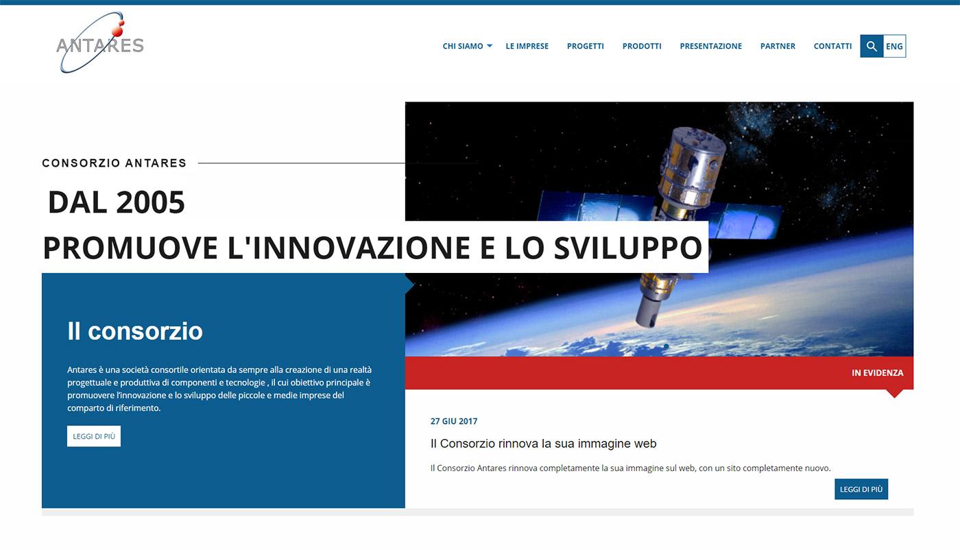 Consorzio Antares, portale imprese