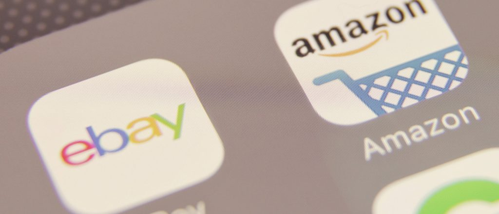 Amazon ed Ebay a confronto