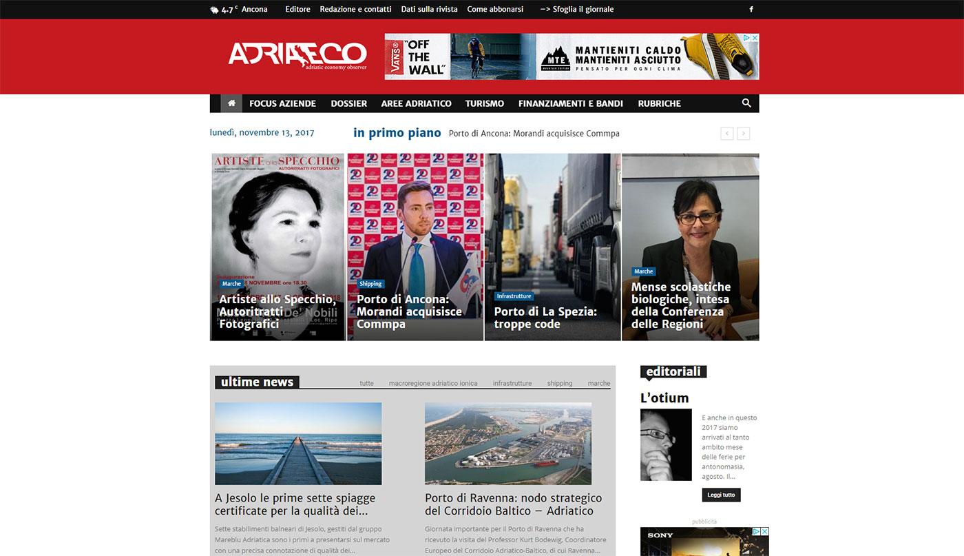 Adriaeco – adriatic economy observer