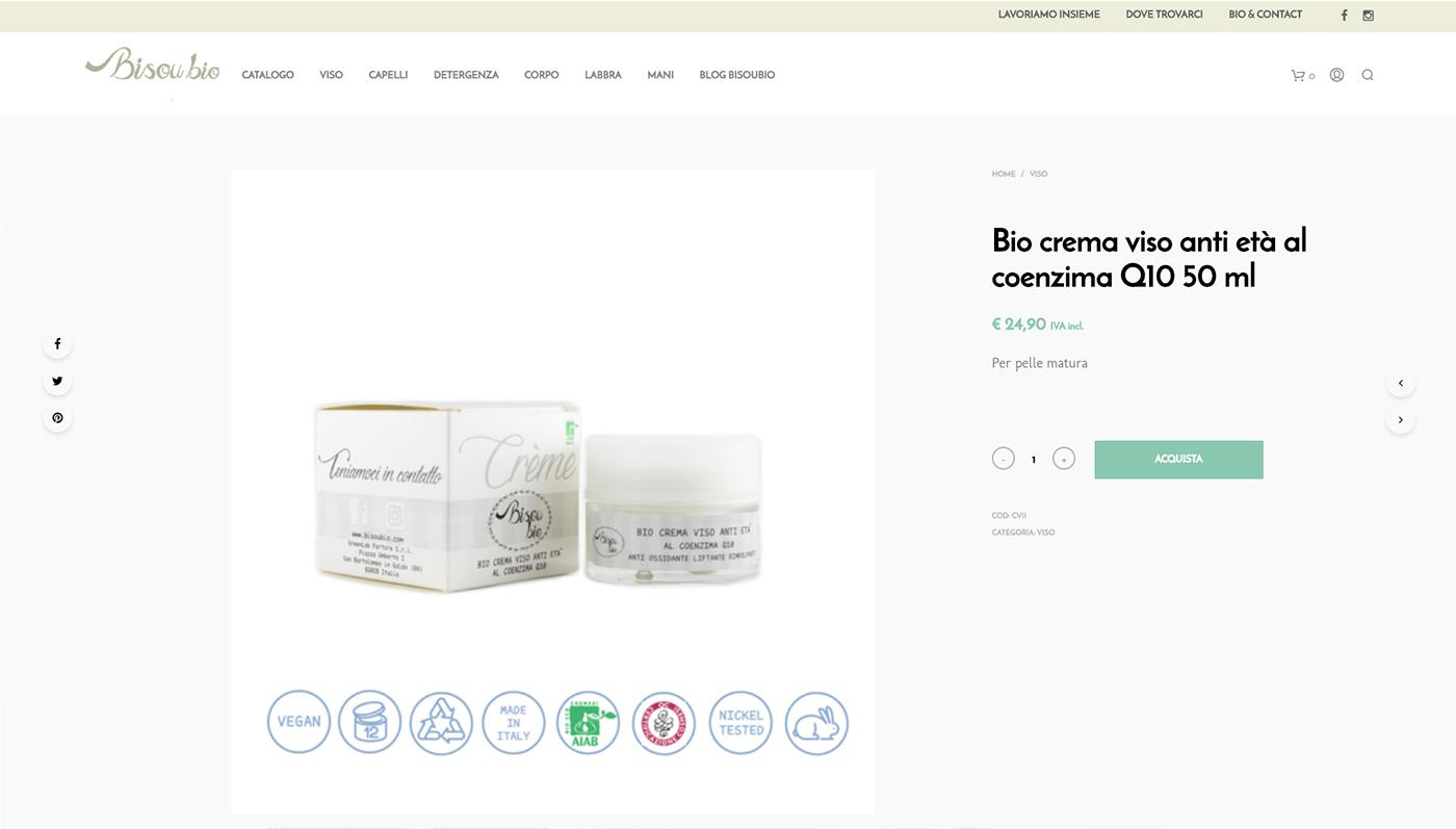 Bisoubio, ecommerce cosmetici bio