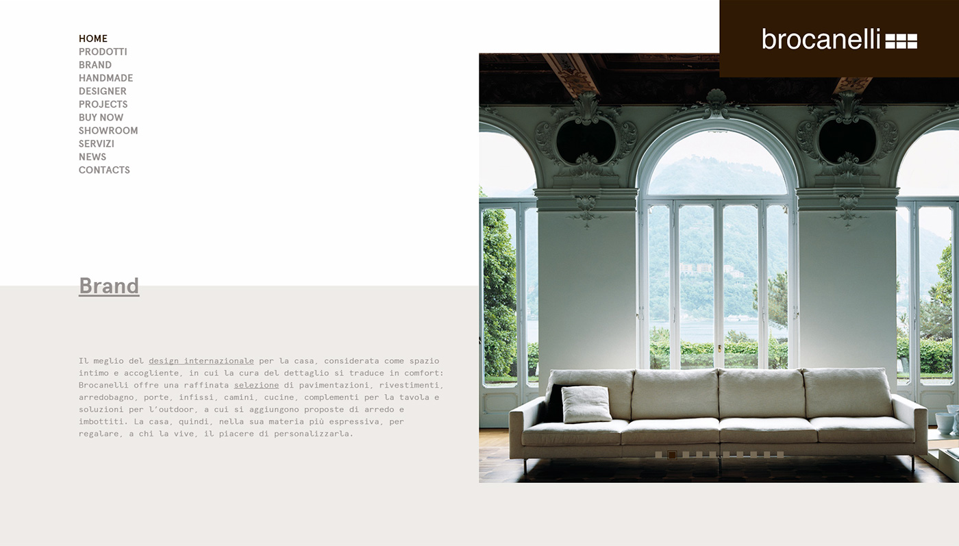 Brocanelli, catalogo online arredamento