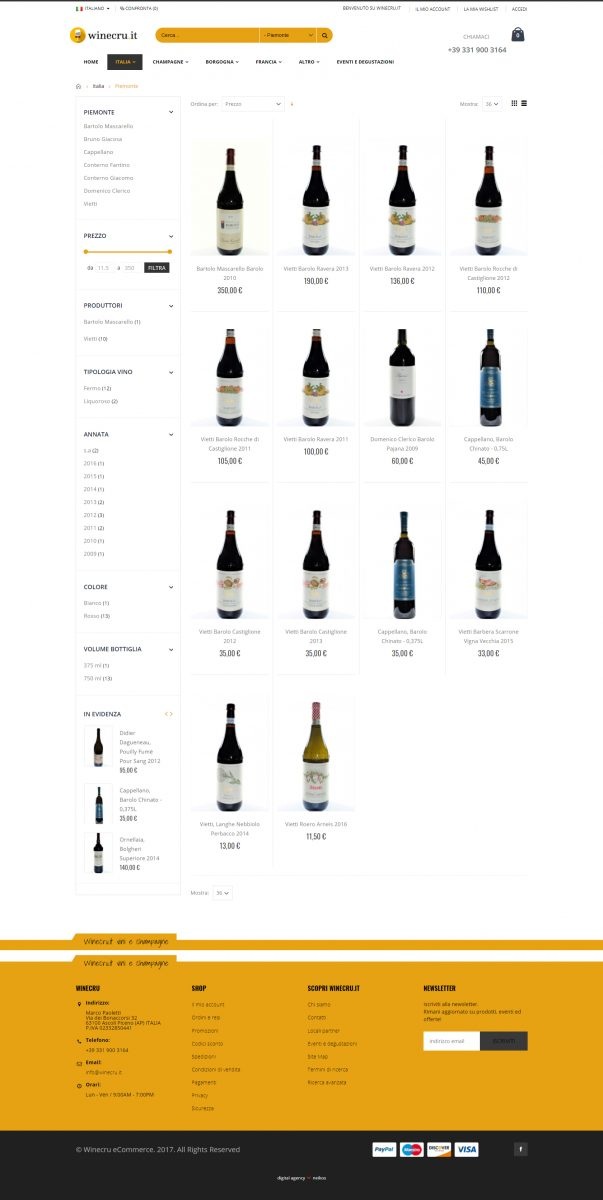 Winecru.it, enoteca shop online