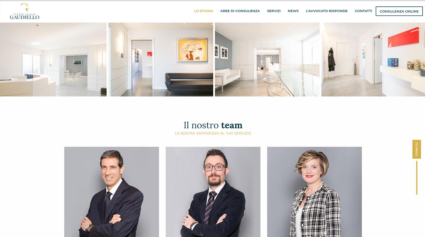 Studio Legale Gaudiello, catalogo online servizi legali