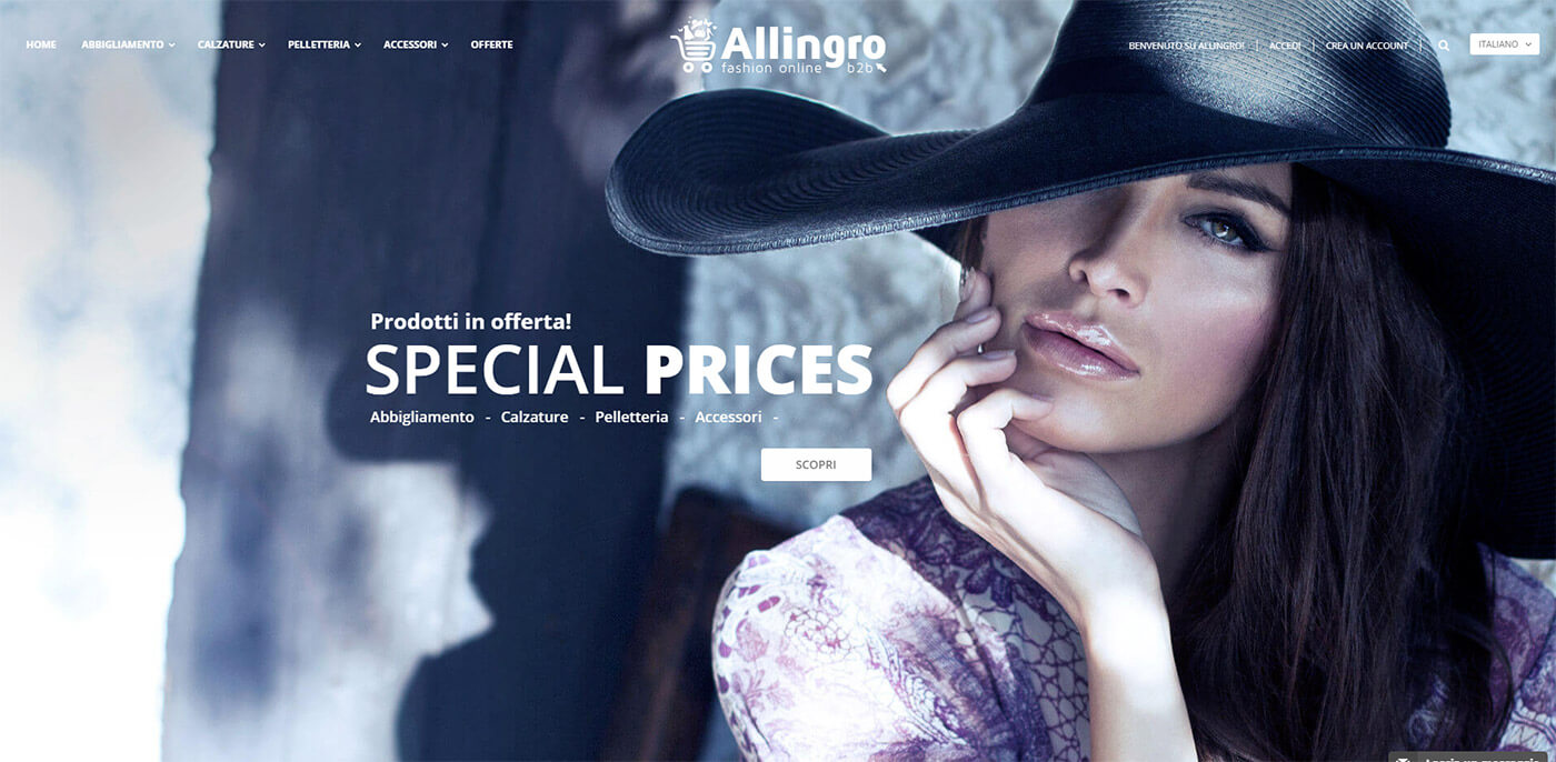 Allingro, fashion online B2B