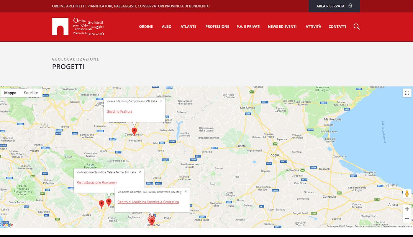 Ordine Architetti Provincia di Benevento