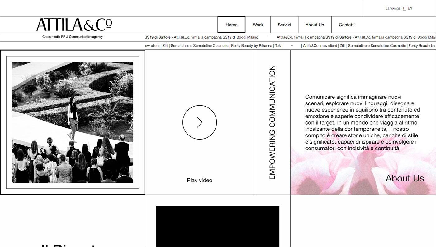 Attila&Co homepage