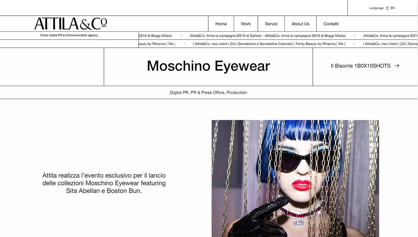 Attila&Co - Moschino Eyewear