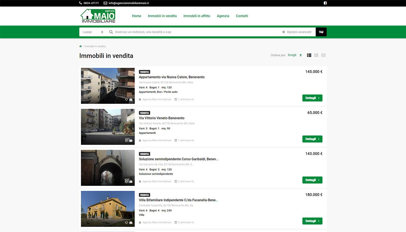 Maio immobiliare - immobili in vendita