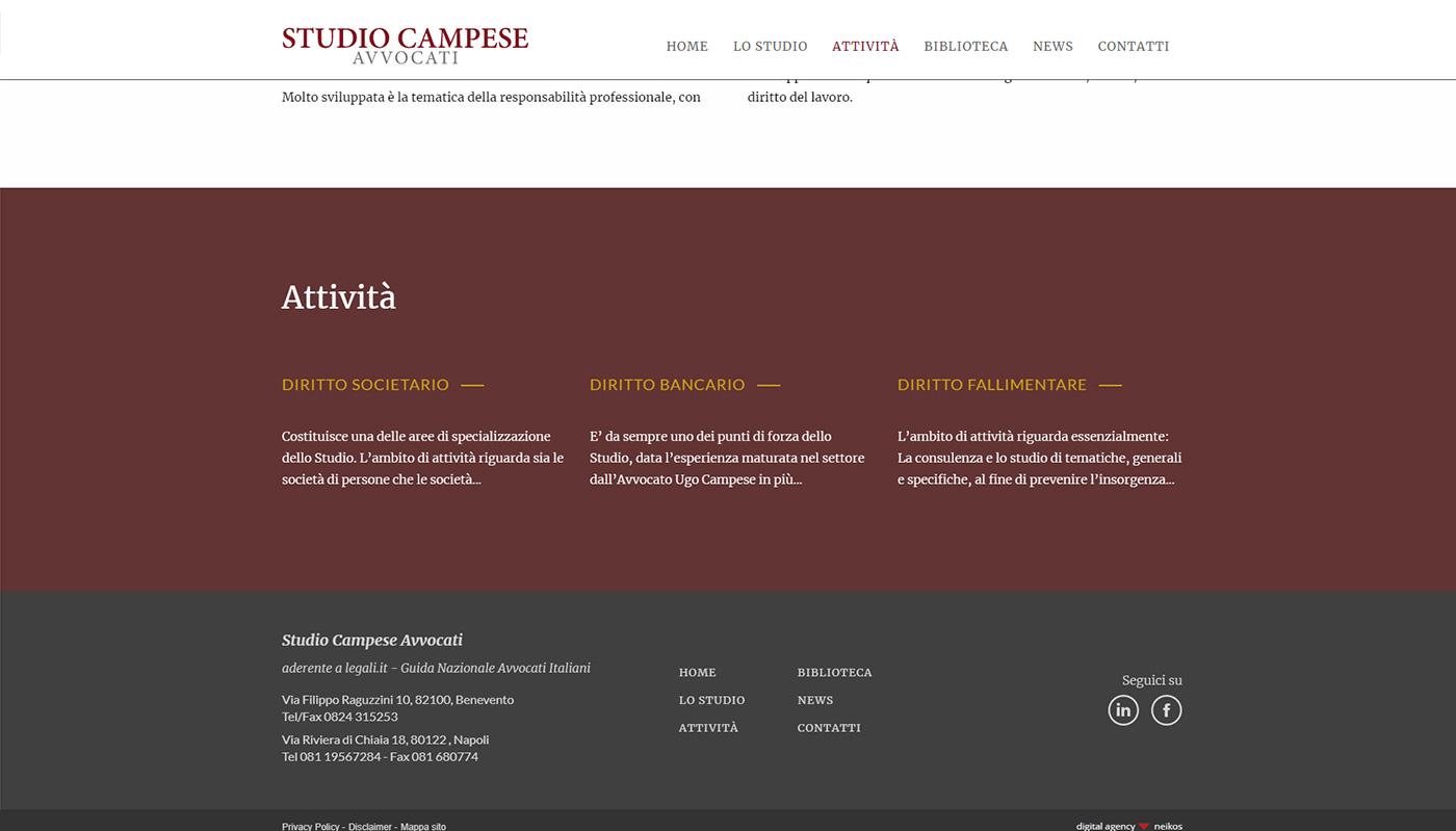 Studio Legale Campese -attività