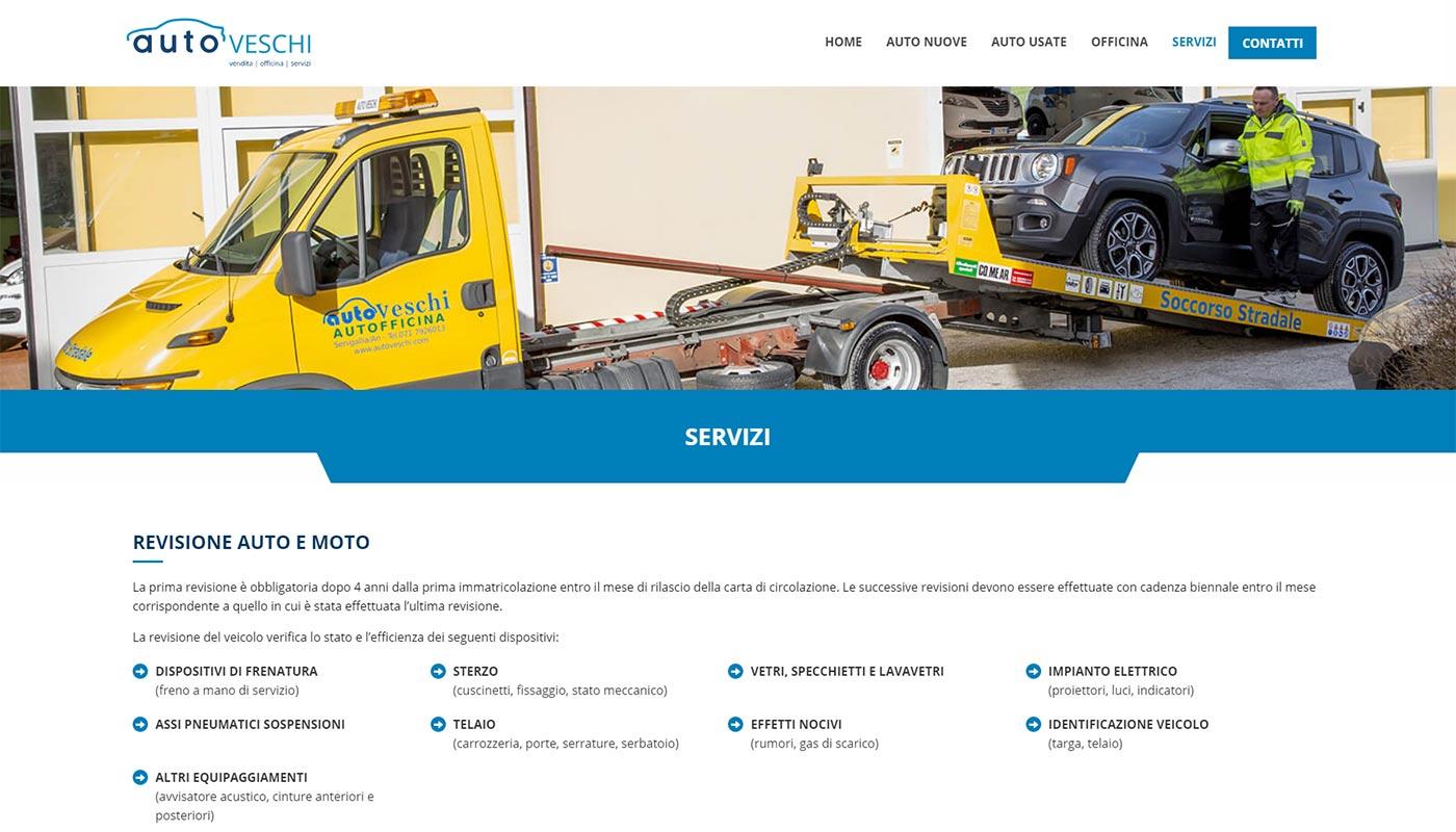 Auto Veschi servizi