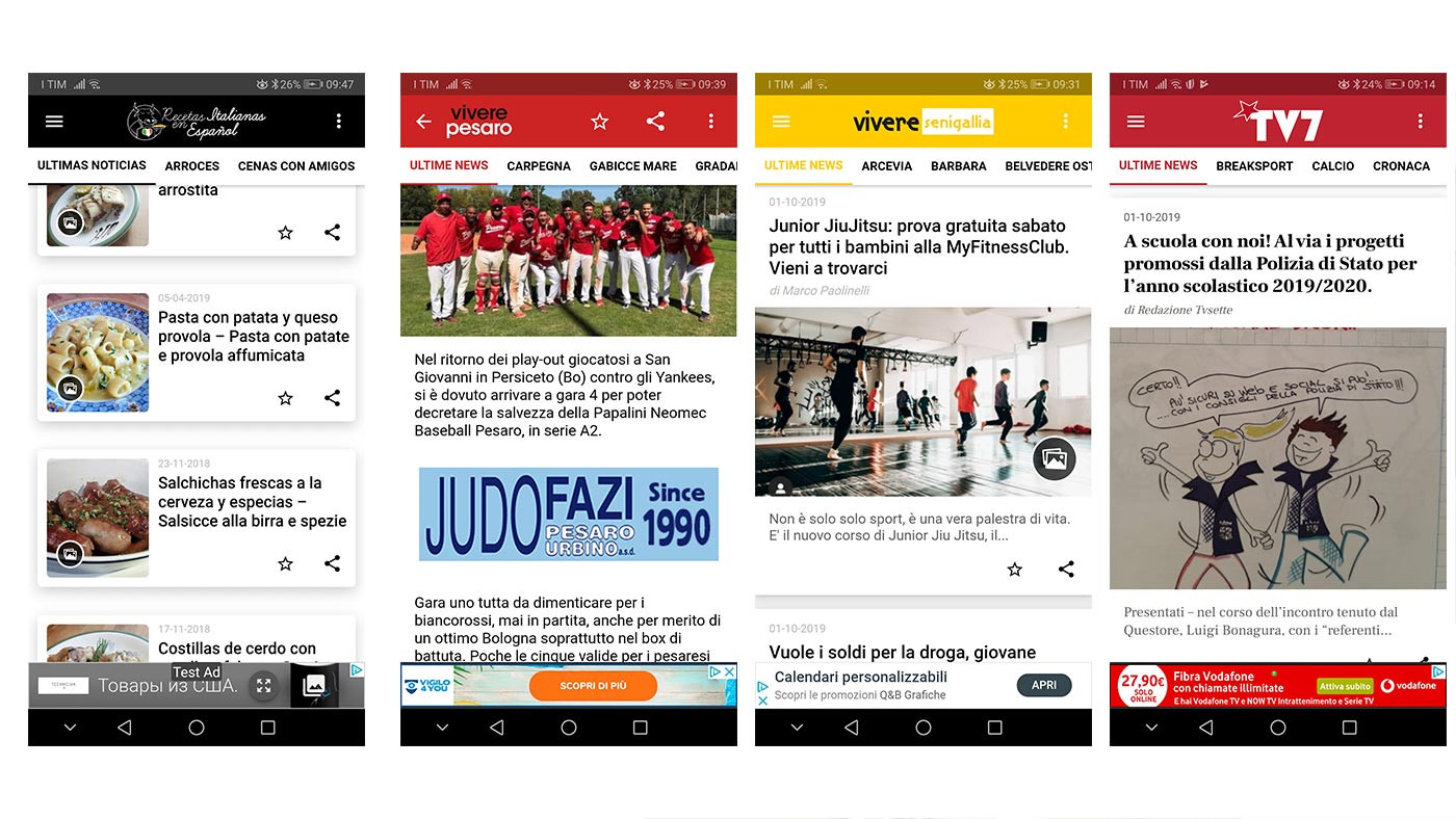 CFeed App wordpress