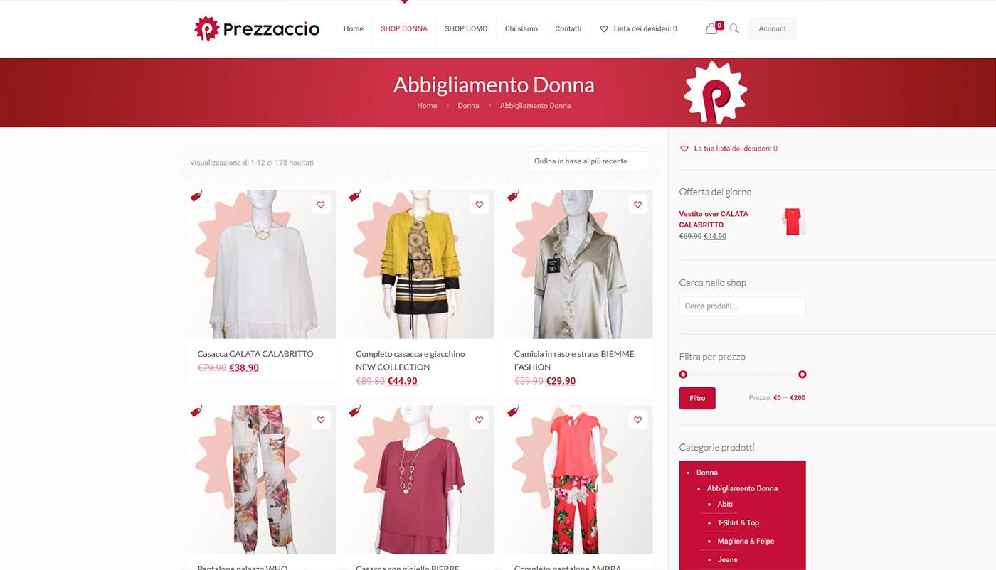 Prezzaccio – prontomoda shop online abbigliamento uomo-donna